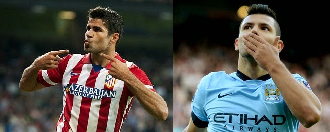 Player Comparison Costa vs Aguero