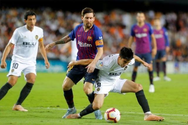 Prediksi Bola Barcelona vs Valencia Liga Spanyol