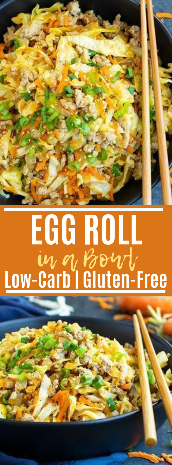 Egg Roll in a Bowl #keto #paleo
