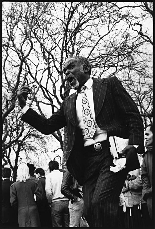prédicateur evangéliste Speaker's Corner Hyde Park london londres franck chevalier