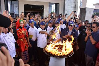 Hanya Api Asian Games Yang Menyala di OKI