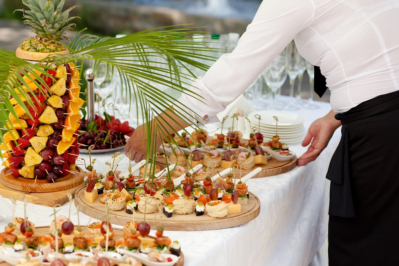 Working on A Wedding Catering Menu