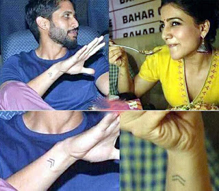 Chay decodes his and Samantha's tattoo | Andhra news daily