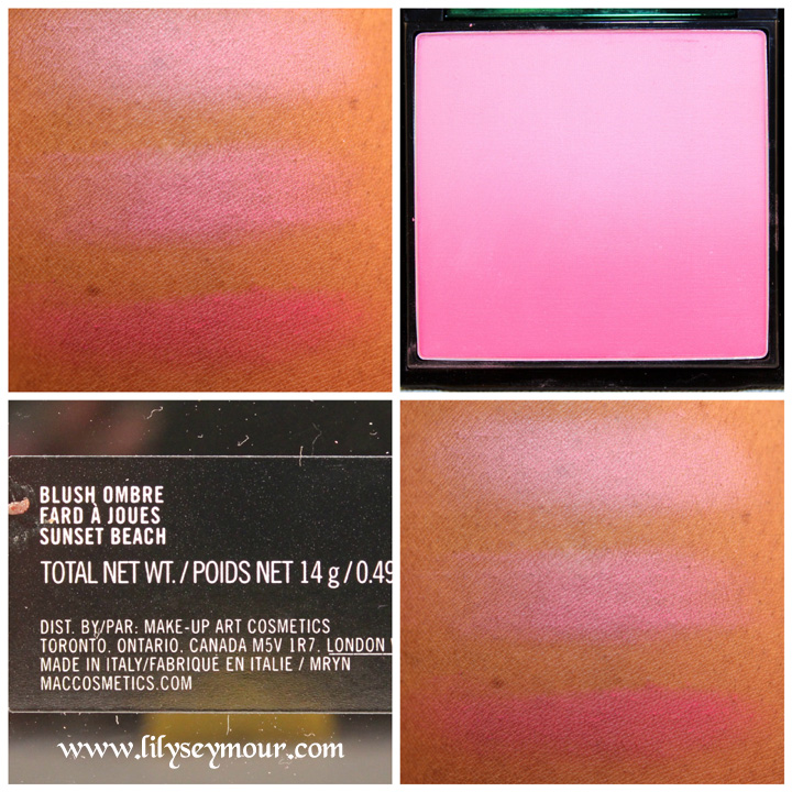 Mac Proenza Schouler Sunset Beach Ombre Blush