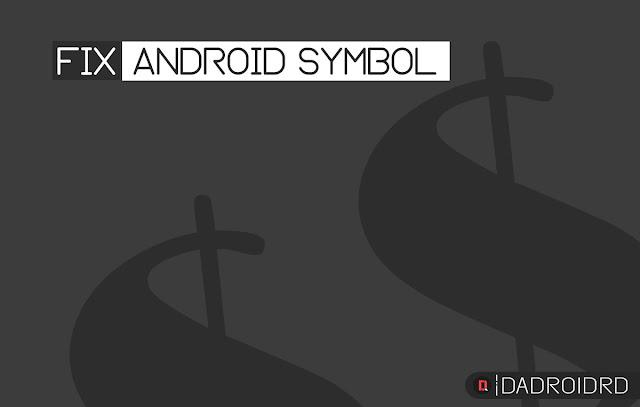 Cara mengatasi beberapa symbol yang tidak bisa muncul pada keyboard smartphone Android
