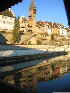 Une ville suisse