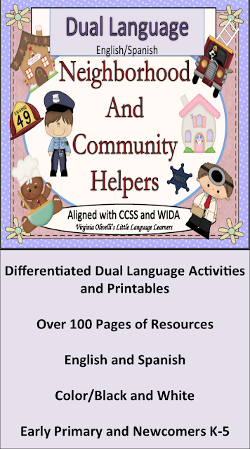 Dual Language Neighborhood and Community Helpers: Vocabulary and Concept Development