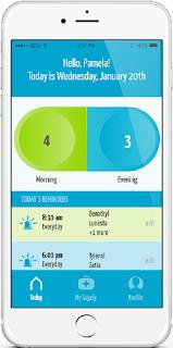 sagely smart weekly pill organizer app