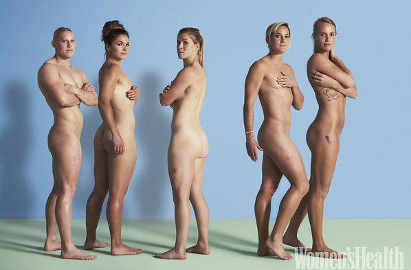 Female athletes from England's Rugby squad get naked for Womens Health ...