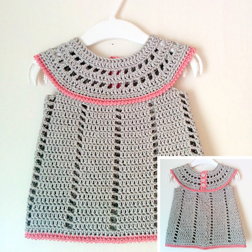 Baby Delight Dress - Free Pattern