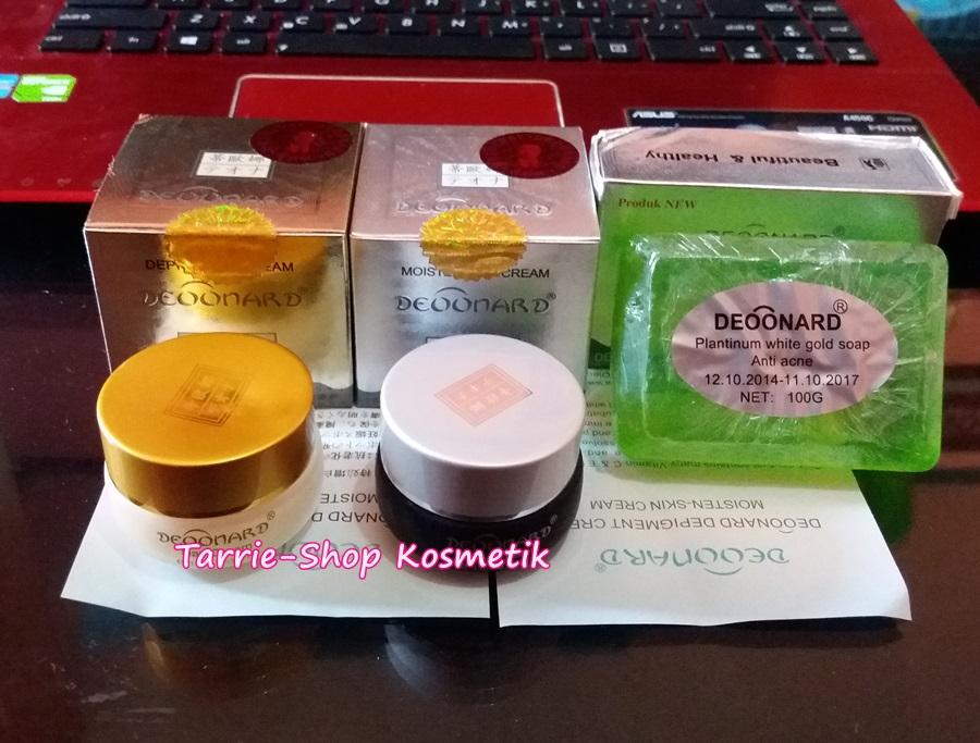Paket Cream Deoonard Gold Silver Soap Silver Platinum