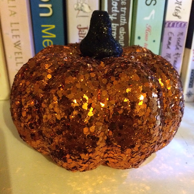 Glitter pumpkin Asda