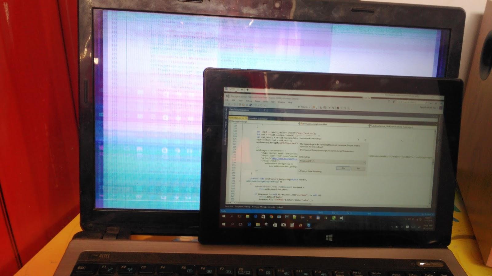 Khắc phục sự cố Laptop bị cháy chip VGA rời