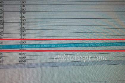 Upload Dokumen Lain Reject JDBC Exception On Hibernate Data Access : SQL Exception