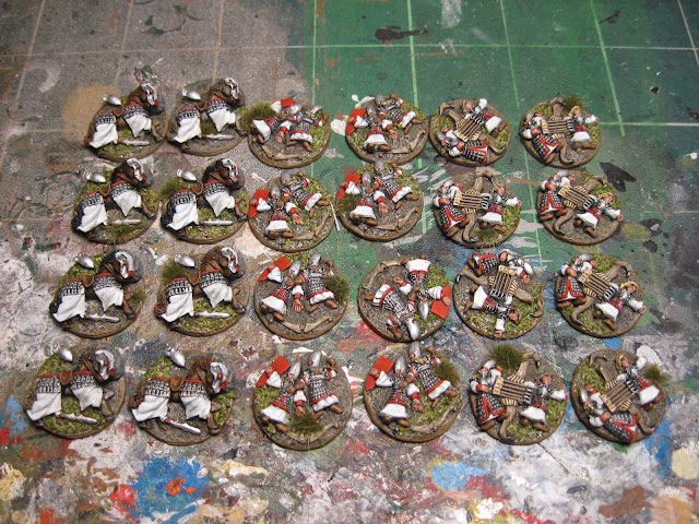 High Elf Casualty Markers