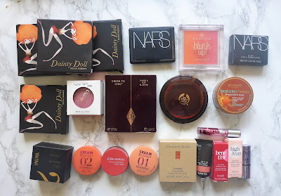 Declutter Part 2 - Blushers,  Bronzers & Highlighters