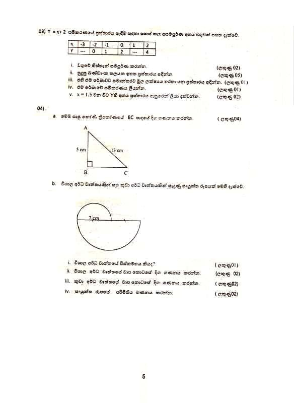 sri lankan mathematics olympiad past papers 2012