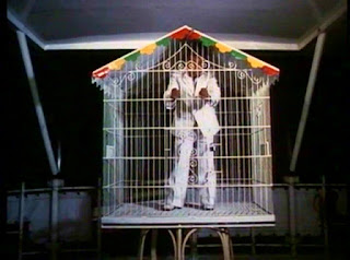 Agent 00 in cage
