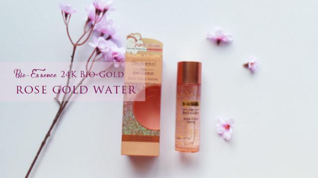 Bio-Essence 24K  Rose Gold Water