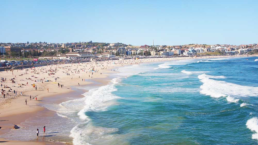 Bondi Beach - Down Under Travel Guide: What You Can Eat and Do in Sydney