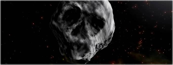Asteroide Do dia das Bruxas - 2015 TB145 - ilustração