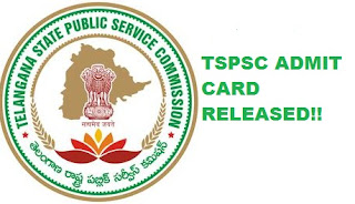 TSPSC ADMIT FOR FOREST BEAT OFFICER 2017