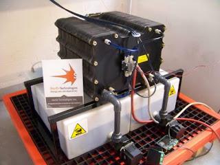 StorEn's Vanadium Flow Battery (Credit: StorEnTech) Click to Enlarge.