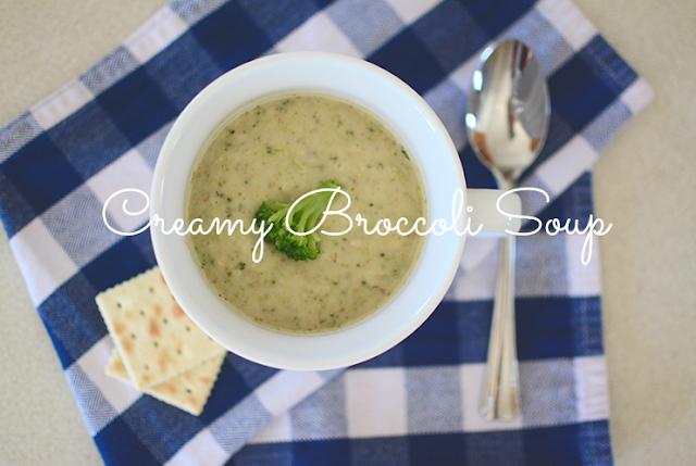Make: Creamy Broccoli Soup | My Darling Days