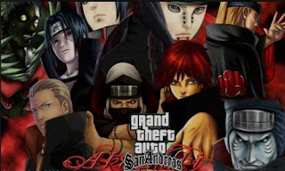 Download Gratis GTA San Andreas Mod Pack Naruto By Lutfi (Final V) Terbaru