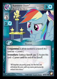 My Little Pony Rainbow Dash, Best of the Best Equestrian Odysseys CCG Card