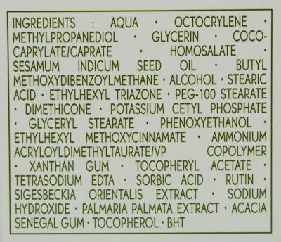 Yves Rocher - Sensitive Végétal Anti-Rötungen Pflegecreme LSF 20 INCI, Inhaltsstoffe, Ingredients