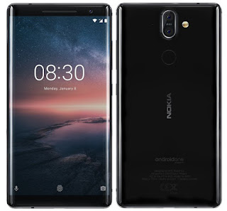Nokia 8 Sirocco android one smartphone