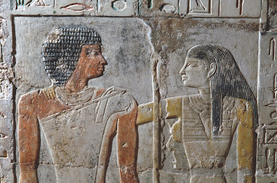 An ancient Egyptian love story in full colour