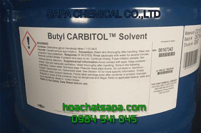 Dung môi Butyl Carbitol BC