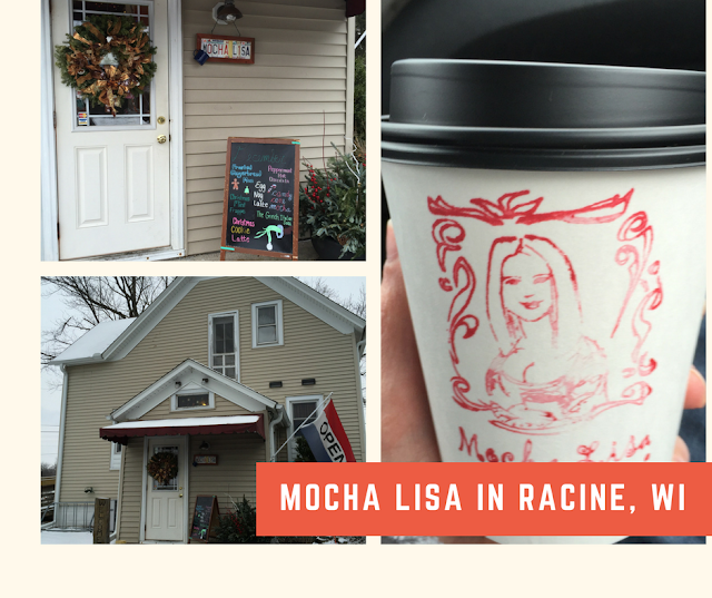Mocha Lisa Coffee Shop in Racine, Wisconsin