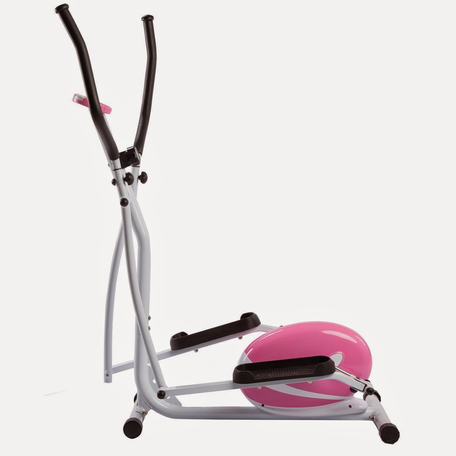 Sunny Health & Fitness Pink Magnetic Elliptical Trainer P8300, review, easy to use, 8 levels of resistance, monitor displays your workout stats