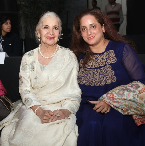 Sushma Seth and Designer Monika Mallik