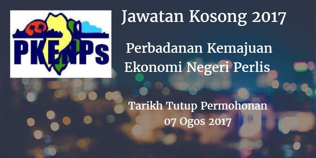 Jawatan Kosong Perbadanan Kemajuan Ekonomi Negeri Perlis  07 Ogos 2017