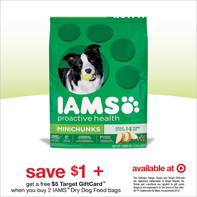 Iams dog food savings at Target #ad