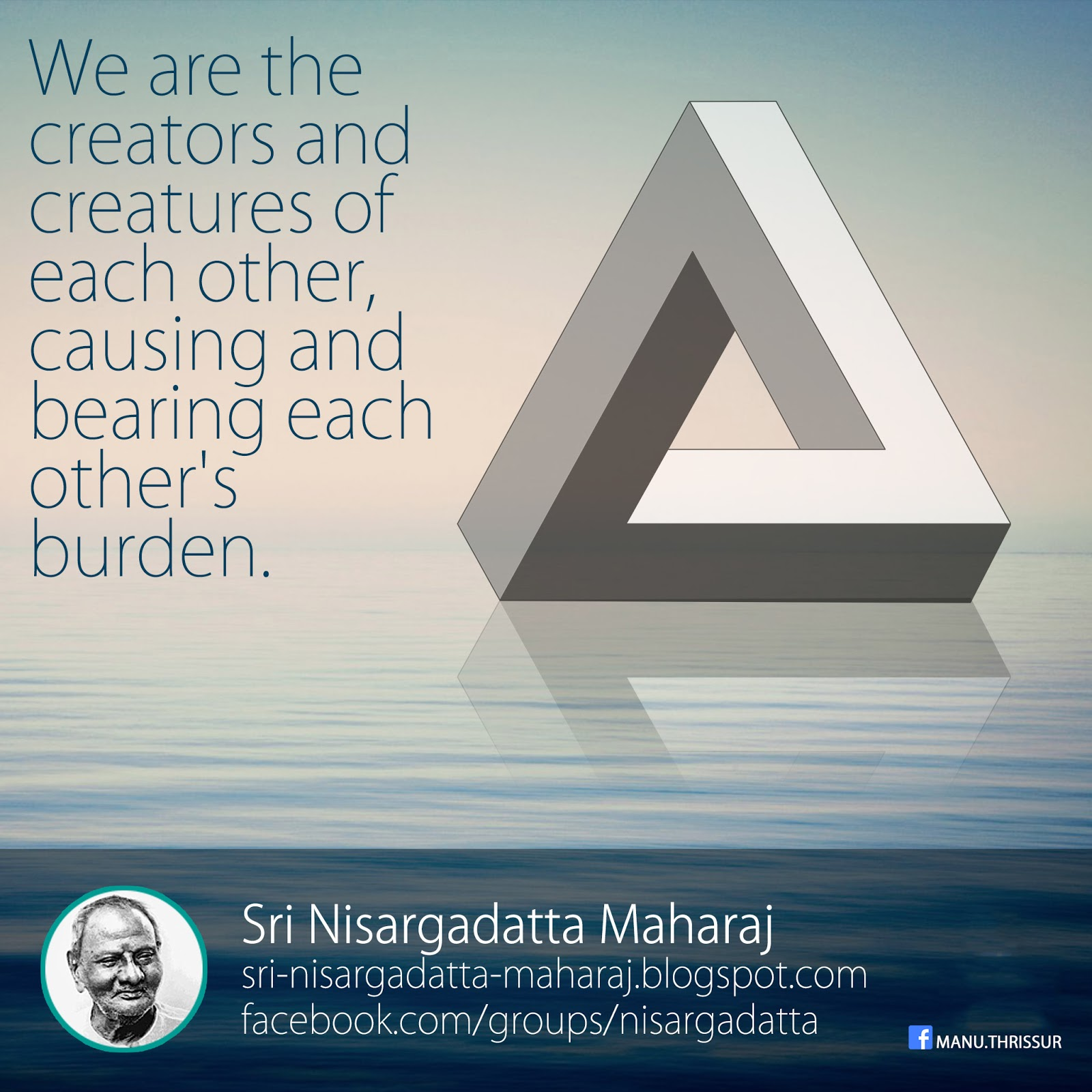 We are the creators and creatures of each other