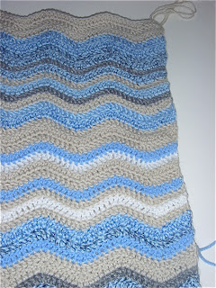February Sky Blanket in Crochet by fabricandflowers | Sonia Spence