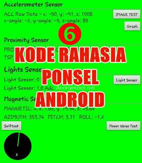 6 kode rahasia ponsel/smartphone android yang wajib diketahui oleh pengguna