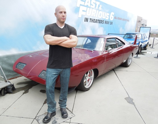 Fast Furious 6 movie cars Madame Tussauds Vin Diesel