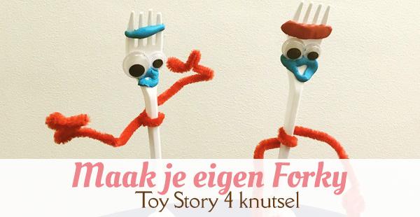 toy story 4 forky knutselen