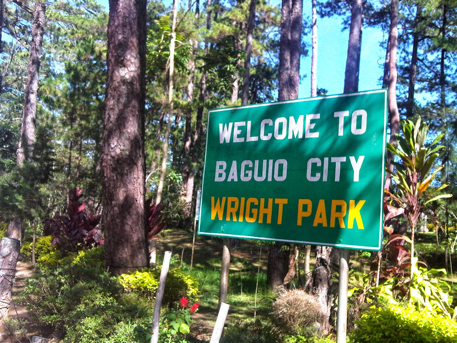 Things to see in Baguio? Wright Park