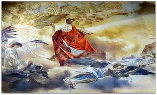 'Moisés em Moisés e os Dez Mandamentos', Marciano Schmitz, Catedral São Luiz Gonzaga [Novo Hamburgo]