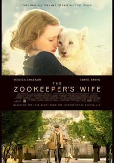 Film The Zookeeper's Wife 2017 di Bioskop