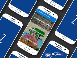 Aplicativo da Prefeitura de Registro-SP amplia e oferece mais serviços ao cidadão