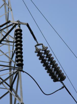 overhead line insulators types materials electricalvoice