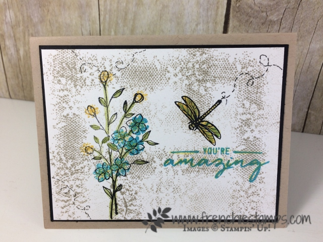 Touches of Textures, Stampin'Up!, 24 hour sales